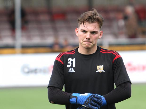 Strathallan Times: Goalkeeper Chris Henry has moved on after two seasons in Clacks