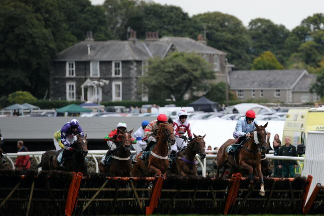 Cartmel racecourse was the unlikely venue for an audacious plot