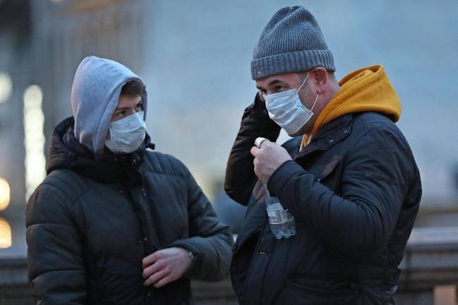 Commuters are asked to wear a face mask or covering when using the railway