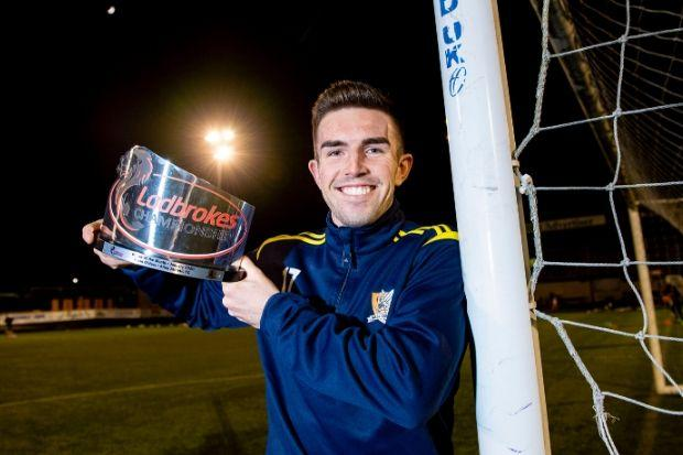 Kevin O'Hara (pictured with his Championship Player of the Month award for January) is determined to prove this season was not a one-off