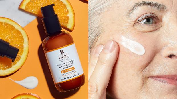 Strathallan Times: Smooth fine lines and wrinkles with Kiehl's Powerful-Strength Line-Reducing Concentrate. Credit: Kiehl's