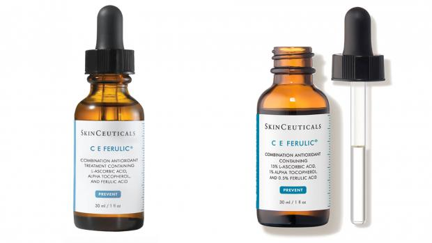 Strathallan Times: It's pricey, but the Skinceuticals C E Ferulic keeps the vitamin C stable with vitamin E and ferulic acid. Credit: Skinceuticals