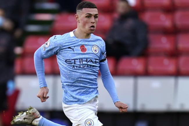 Phil Foden hopes to weigh in with more goals for Manchester City
