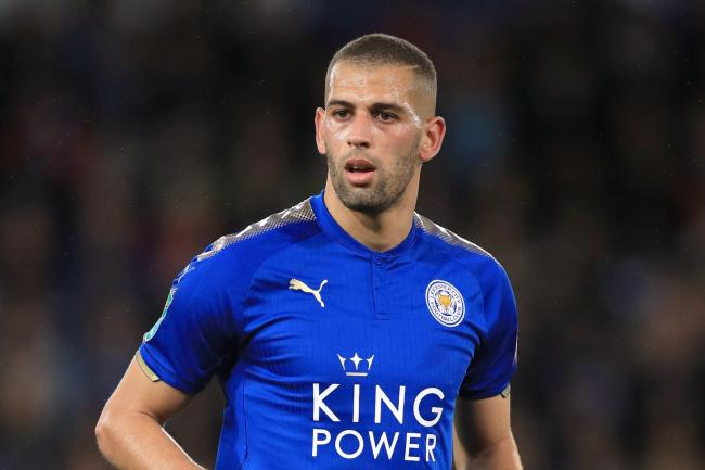 Leicester striker Islam Slimani has joined Ligue 1 club Lyo