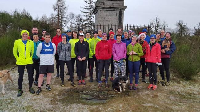 Strathearn Harriers launch their 2016 activities