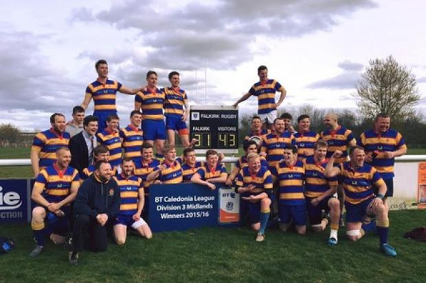 Crieff & Strathearn RFC clinched the BT Caledonia League Midlands Division 3