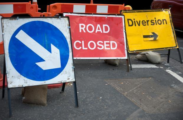 Roadworks planned for the A85