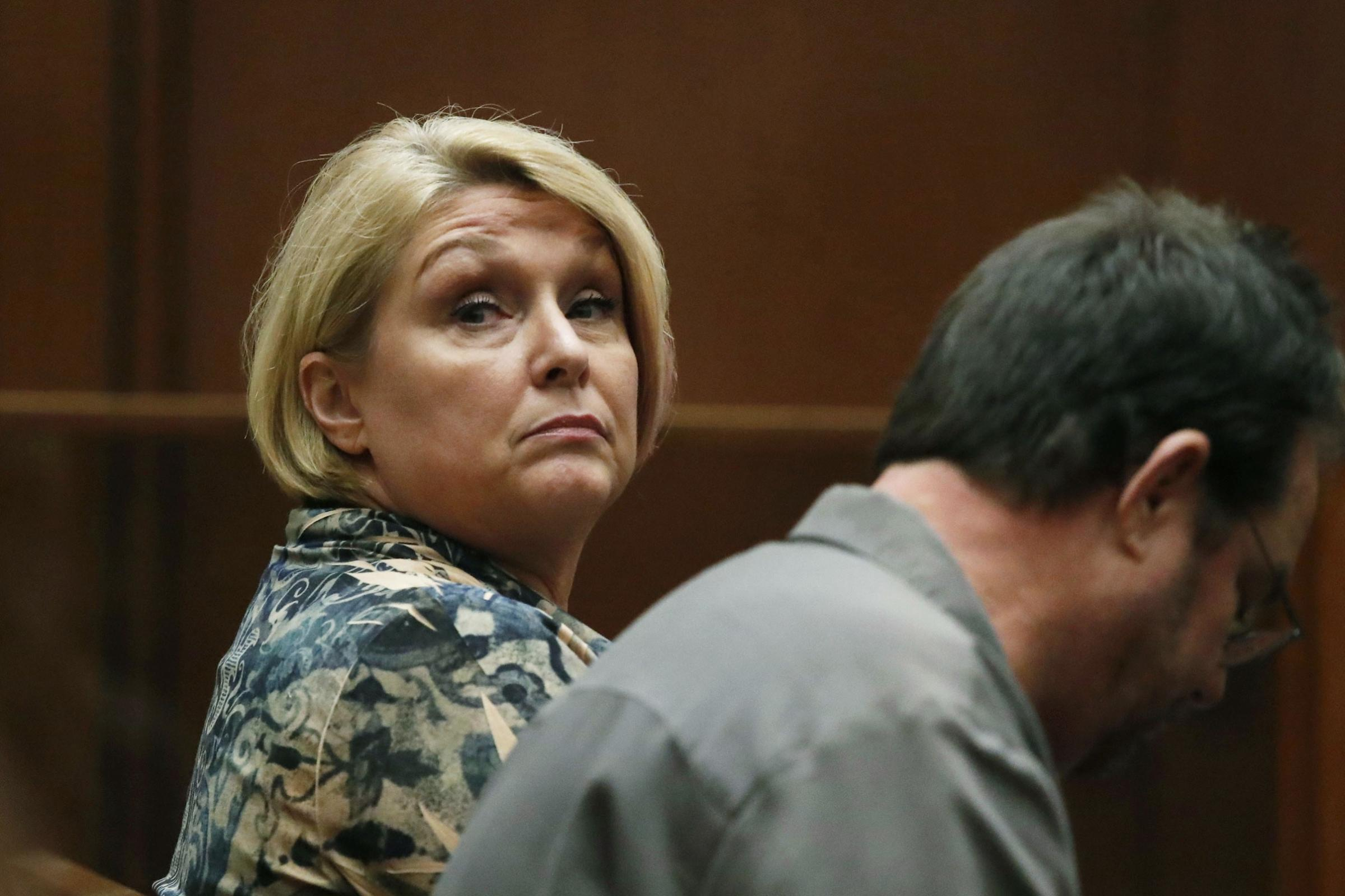 Samantha Geimer pleaded for the judge to drop the case (Paul Buck/AP)