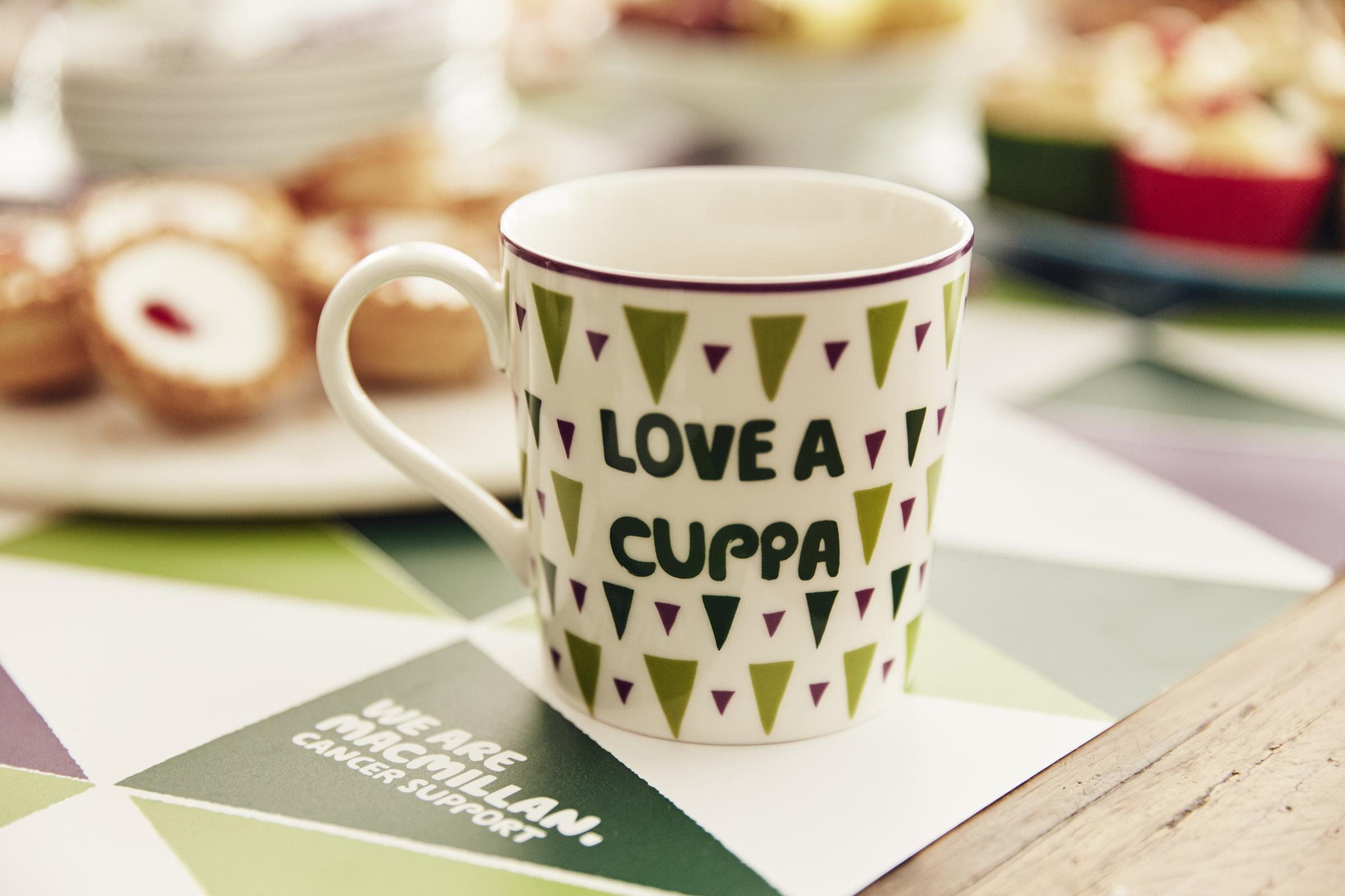 M&S stores back Macmillan Cancer Support's World's Biggest Coffee Morning