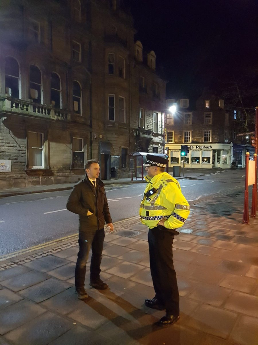 MP Luke Graham on a night shift with police