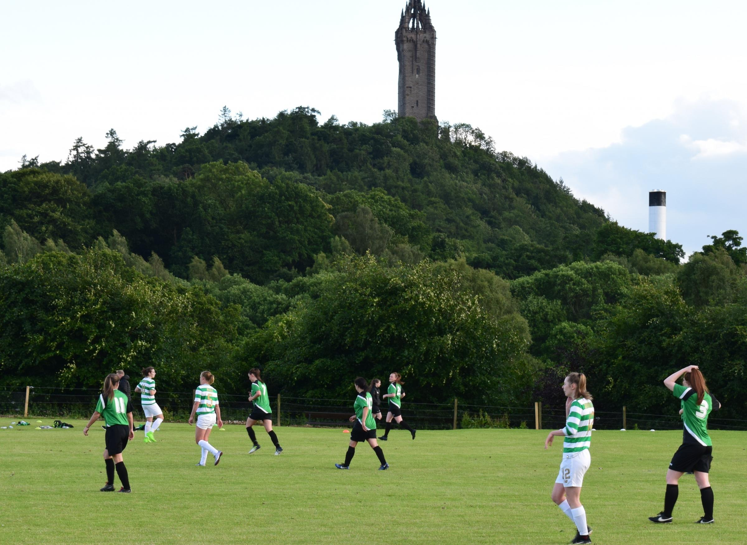LATE RALLY: The Celtic ladies team grabbed the win with three late goals. Picture by Alexander McLeman