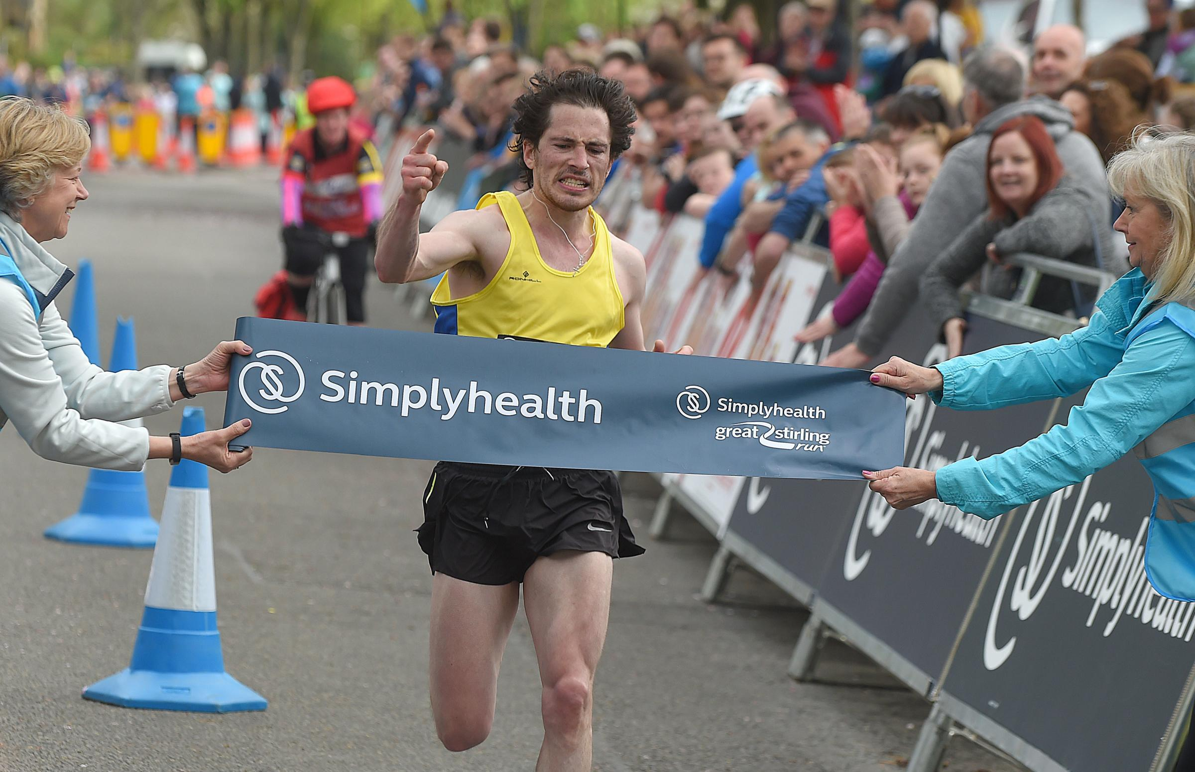 Stirling Marathon was won by two local people during a successful event.Photography by Whyler Photos of Stirling
